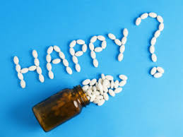 Happy? Antidepressants?